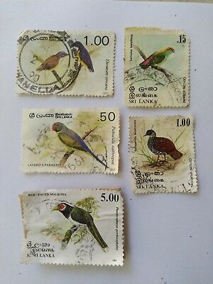 Sri Lanka stamp collection, Old Stamp