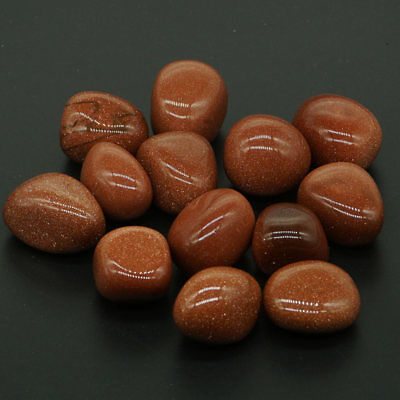 Nice Polished Gemstone Tumbled Red Sand Stones For Wicca Reiki Crystal Healing