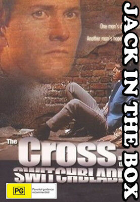 The Cross And The SwitchBlade DVD NEW, FREE POSTAGE WITHIN AUSTRALIA REGION ALL