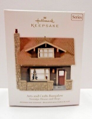 Hallmark Ornaments 2011 Nostalgic Houses and Shops  ARTS and CRAFTS  BUNGALOW