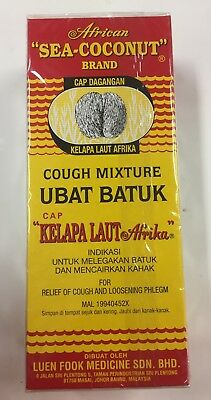 """AFRICAN SEA COCONUT HERBAL SYRUP 177ml - COUGH MIXTURE """"AUSSIE STOCK"""""""