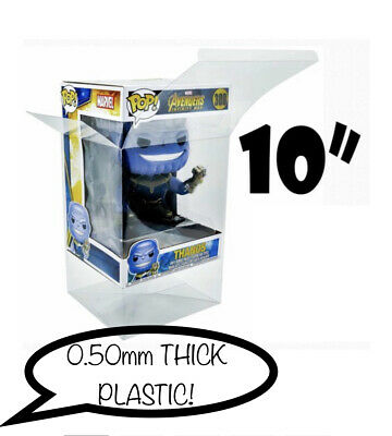 10 Inch Funko POP! PROTECTOR 0.50mm thick plastic Thanos Porg POPS NOT INCLUDED!
