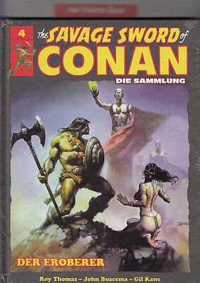 The Savage Sword of CONAN - Die Sammlung Band 4 HC noch ovp: Hachette, deutsch.