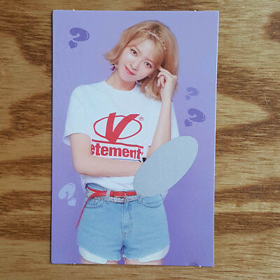 Jeongyeon Official Photocard Twice What is Love The 5th Mini Album Kpop Genuine