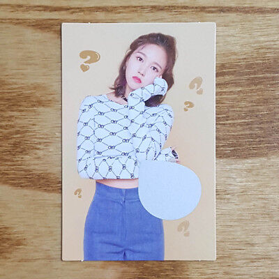 Mina Official Photocard Twice What is Love The 5th Mini Album Kpop Genuine