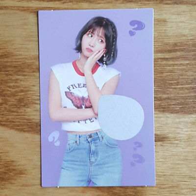 Momo Official Photocard Twice What is Love The 5th Mini Album Kpop Genuine