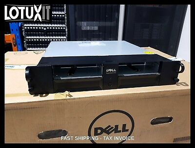 Dell PowerVault 114X 2U Rackmount SAS LTO Tape Drive Chassis 2x Dual Port Config