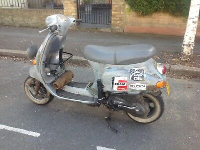 Vespa ET4 scooter - Rally Rat - Less than 4K miles!