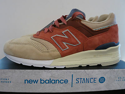 NEW Balance m997st x stance first of all Stance Socks Tg. 43us 95 Sold Out