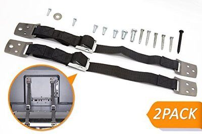 Metal Anti-Tip Furniture Straps, Childproof TV Straps, Baby Proof Furniture and
