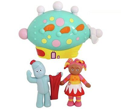 In The Night Garden Pinky Ponk  Character Set Exclusively on Sunday Electroni
