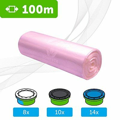 100mEco Refill Film for Sangenic Nappy Wrapper Tommee Tippee angelcare  Li