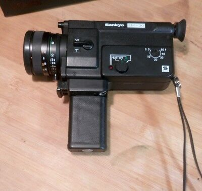 Vintage Sankyo EM-30 Movie Camera