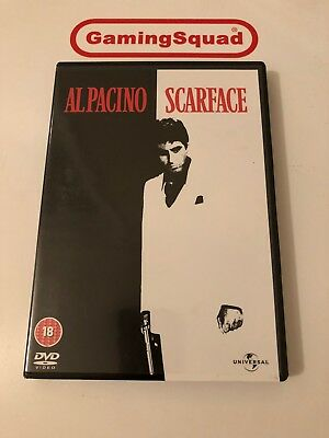 Scarface DVD, Supplied by Gaming Squad