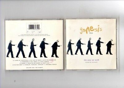 Genesis - Live The Way We Walk - Cd