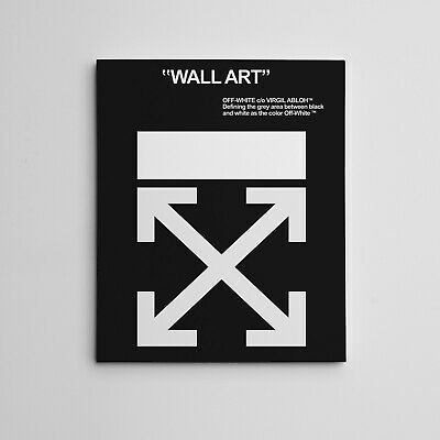"""OFF-WHITE"" Virgil Abloh Wall Art Gallery Canvas Hype"