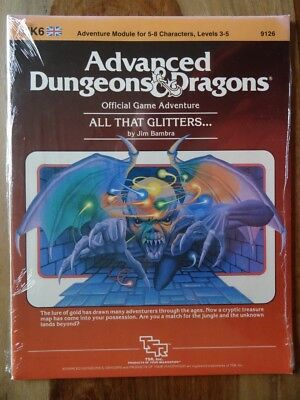 UK6 - All that Glitters... -NEW SEALED & still in SHRINK WRAP- AD&D TSR 9126