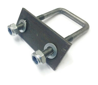 10mm Square U Bolts With Back Plates  U-Bolt For Boat And Live Stock Trailers