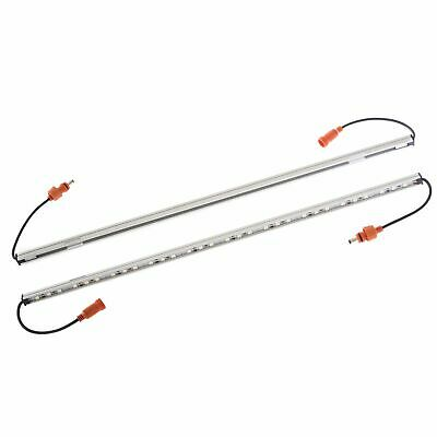 Orange LED Camp Light Extension Kit Invisible to most Bugs Velcro & Magnetic