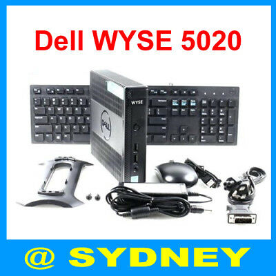 New Dell WYSE 5020 Thin Client DX0Q 4GR 16GF Windows Embedded 7 WES7
