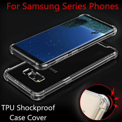 TPU Soft Bumper Shockproof Phone Case Cover For Samsung Galaxy S9 S8 J5 J7 2017