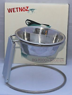 Wetnoz Small & Large Booster Elevated Feeding Stand & Bowl