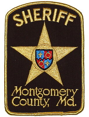 VINTAGE MONTGOMERY COUNTY Police Maryland License Plate