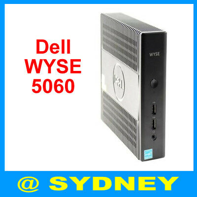 New Dell WYSE 5060 Thin Client 4GR 8GF AMD G-Series Quad-core 2.4GHz ThinOS