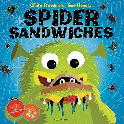 Spider Sandwiches - Claire Freedman - Brand New Paperback - 9781408839157