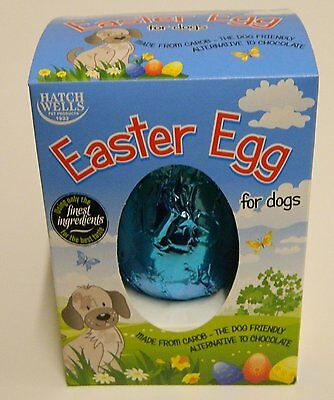 Carob Easter Egg for your Dog By HatchWells Dog friendly Treat 5024703001725