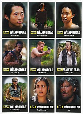 2016 Walking Dead Season 4 Part 2 - 94 Card Master Set - 72 Base + 3 Chase Sets!