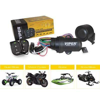Viper 3121V waterproof alarm with Tilt and Shock Motorbike Motorcycle Moped