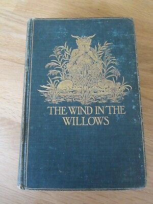 Rare wind in the willows 1991 wh smith exclusive book illustrated wind in the willows 1908 rare uk 1st edition1st printing reduced price solutioingenieria Image collections