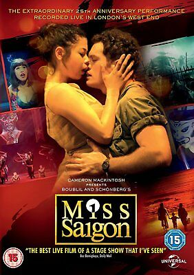 Miss Saigon 25th Anniversary Performance DVD Brand New and Sealed 5053083087579