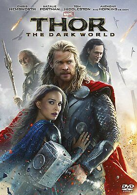 Thor The Dark World Marvel Avengers 2013 New Sealed DVD 8717418420277
