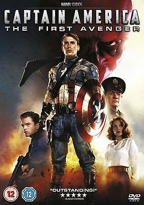 Captain America - The First Avenger - Brand New DVD - 8717418413835