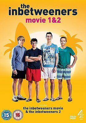 The Inbetweeners Movie 1 and 2 Boxset Pack - BRAND NEW & SEALED 6867449014999 JF