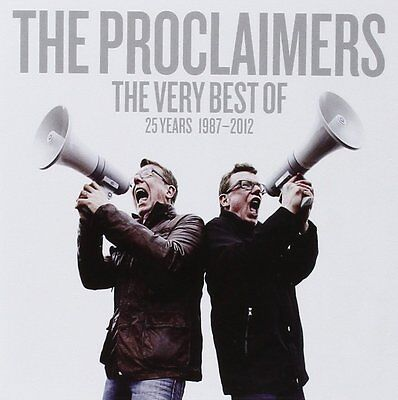 The Very Best Of The Proclaimers CD Brand New Album 5099999355227
