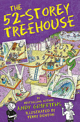 The 52-Storey Treehouse The Treehouse Books PRE-ORDER 9781447287575
