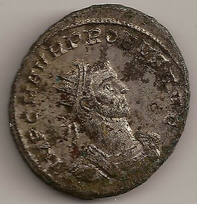 Roman Imperial Coin PROBUS AE Antoninianus 276-282 AD Victory Presenting Wreath