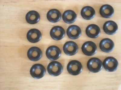 17mm smooth Dinky replacement tyres pack of 20  K & R Replicas
