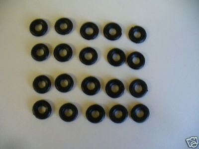 18mm ribbed Dinky replacement tyres pack of 20  K & R Replicas