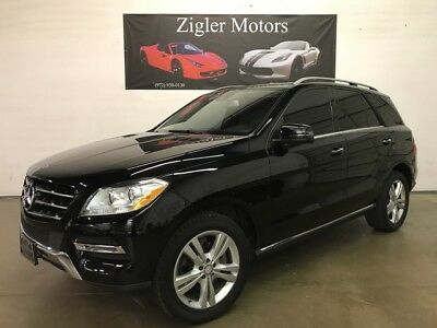 2013 Mercedes-Benz M-Class ML 350 One Owner Clean Carfax Driver Assist ,19 Wh 2013 Mercedes-Benz M-Class 91,500 Miles