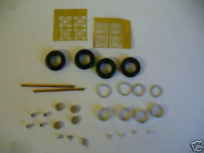 "1/43rd scale photo etched wire wheel kit K&R Replicas for cars with 15"" wheels"