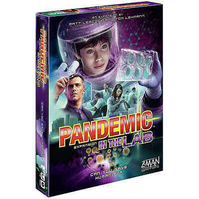 Pandemic Board Game - In The Lab Expansion Pack by Z-Man Games