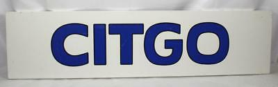 CITGO Gas & Oil Co. Gas Station Advertising Panel Sign Mancave Hot Rod Garage