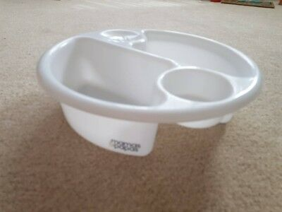 Genuine Mamas & Papas White Baby Top and Tail Wash Bowl Tub Top n Tail Cleaning