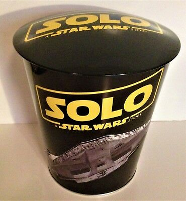 Star Wars: Solo Movie Theater Exclusive 130 oz Metal Embossed Popcorn Tin #2