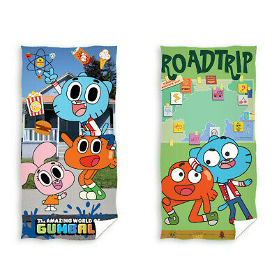 The Amazing World of Gumball Bath Towel Beach Towel Shower Towel 70 x 140 cm