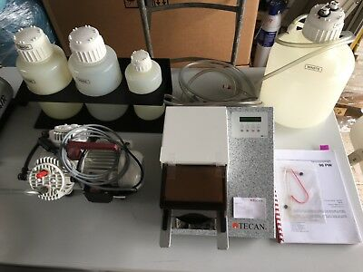 TECAN Plate Washer Type 96PW Microplate Washer with KNF VACUUM PUMP pm08185